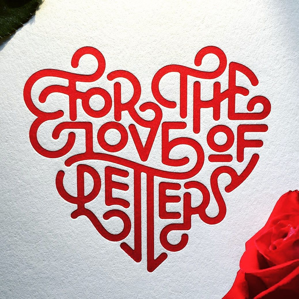 lettering - for the love of letters