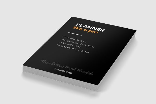 PLANNER like a pro: Planificador y calendario editorial para impulsar tu marketing digital
